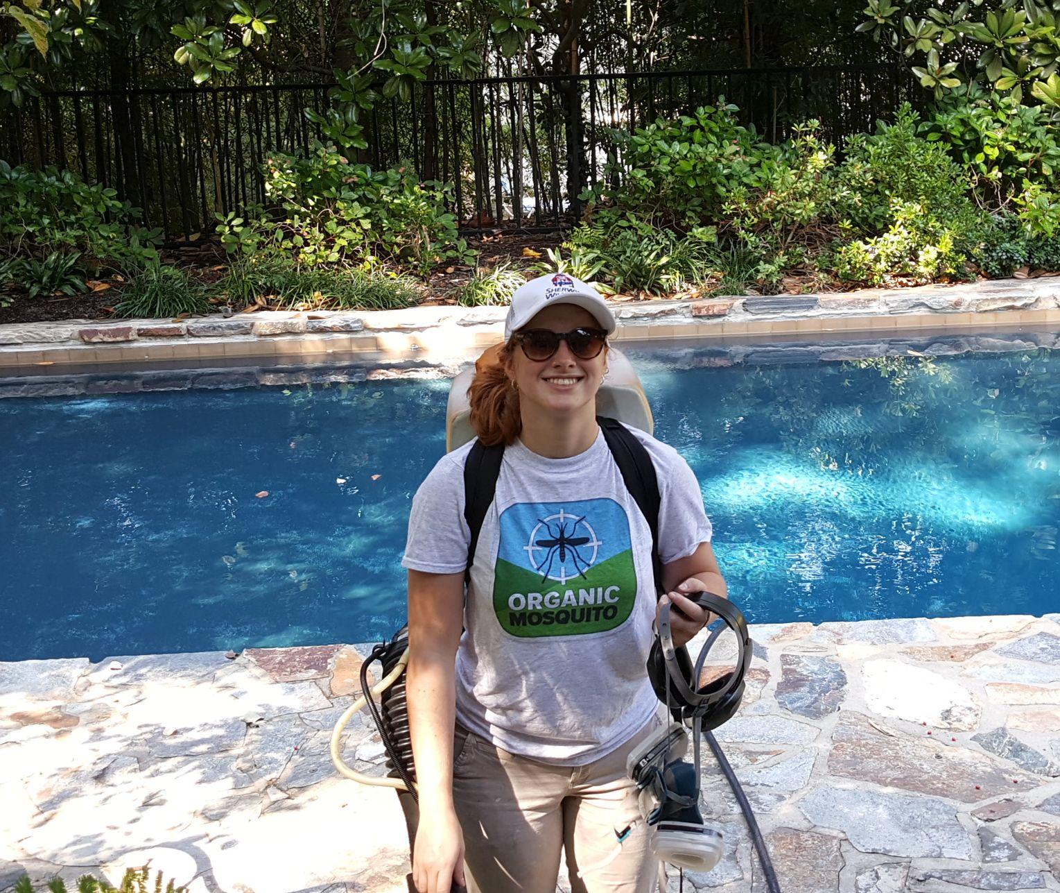 Jessica Cawley Mosquito Technician