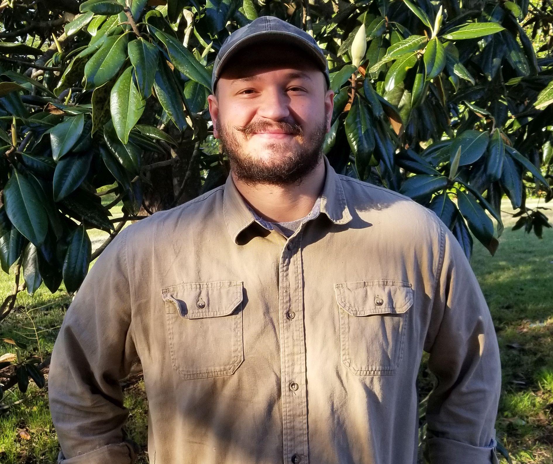 Mosquito Control Employee Garrett Davis